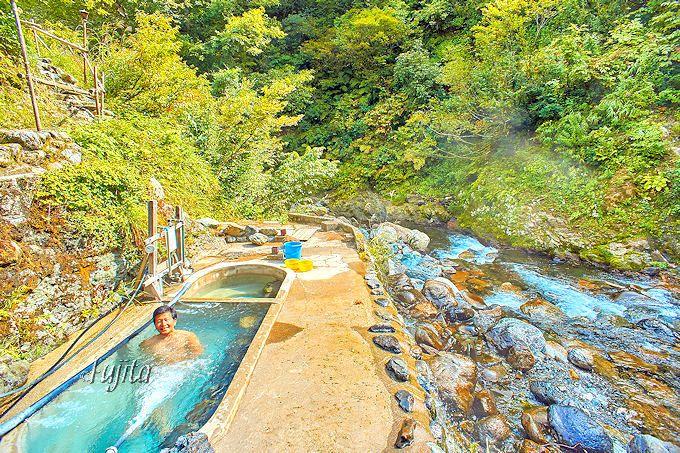温泉好き憧れの混浴露天風呂!駒の湯温泉駒の湯山荘