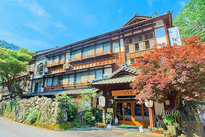 下部温泉大市館裕貴屋は、登録有形文化財の老舗旅館!