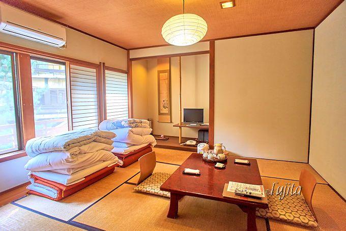 大市館裕貴屋の客室は、和洋室と和室!