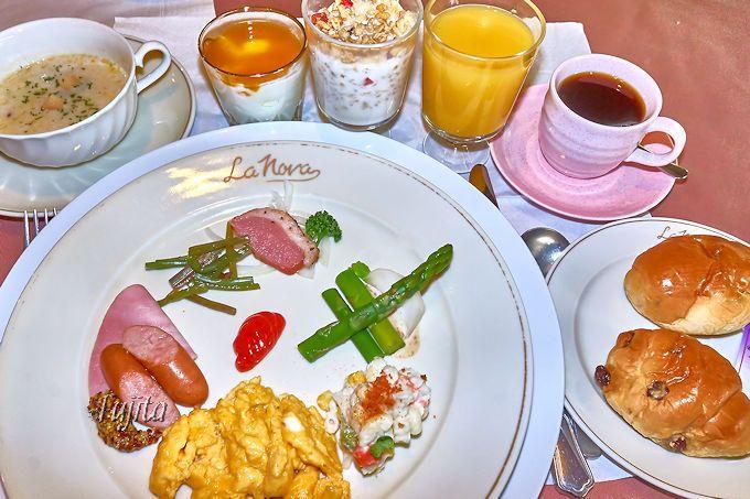 オファ・アトゥは朝食も大満足!