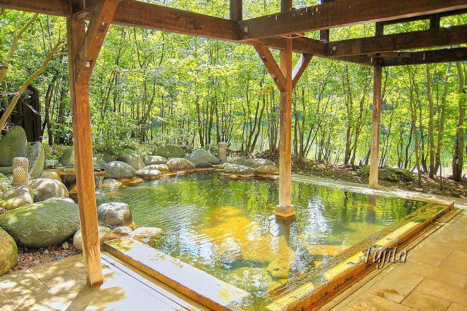 露天風呂付き大浴場は日帰り入浴可能!