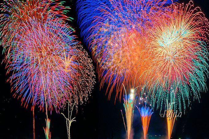 佐倉花火フェスタは二尺玉を4発打ち上げ!8000連発のスターマインも凄い