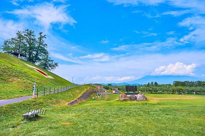 津軽富士の岩木山も一望!