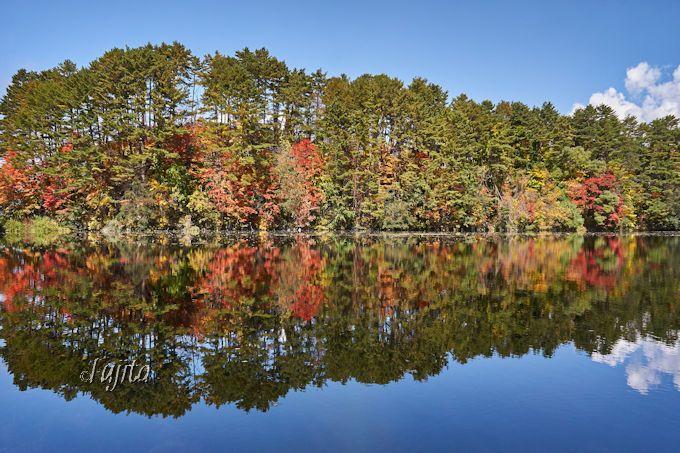五色沼の紅葉は西側から散策しよう!