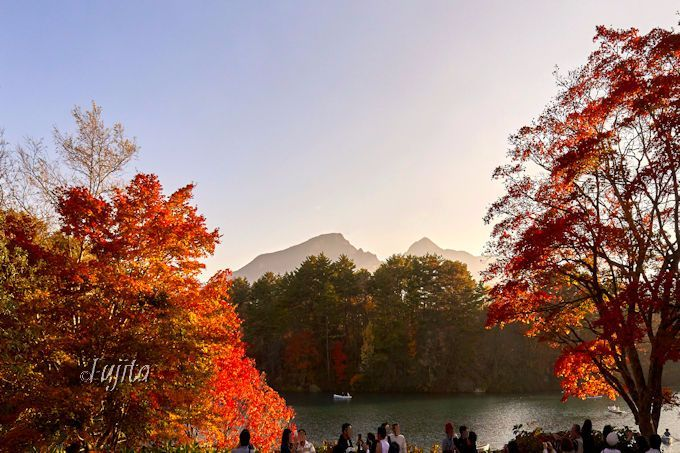 五色沼の紅葉は必見!裏磐梯でボートや探勝路から紅葉狩り