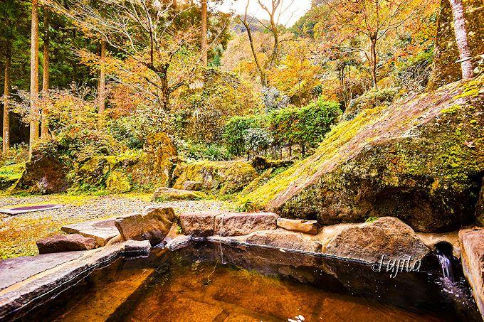 露天風呂から紅葉狩り!深耶馬渓温泉も完備