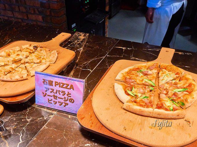 石窯ピザとパンが絶品!ヘルシーランチビュッフェ