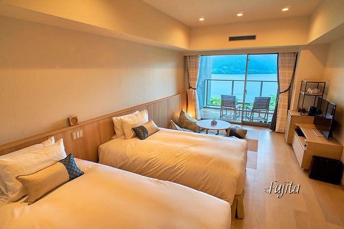 箱根「はなをり」の客室は芦ノ湖側和洋室がおすすめ!