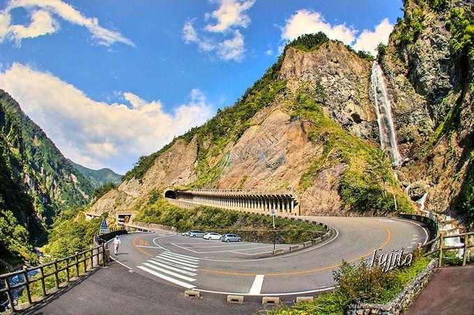 親谷の湯へのアクセスは「ふくべの大滝」が目印!
