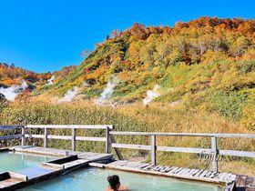 ふけの湯温泉の紅葉が見頃!秋田・蒸ノ湯の日帰り入浴で露天風呂から紅葉狩り