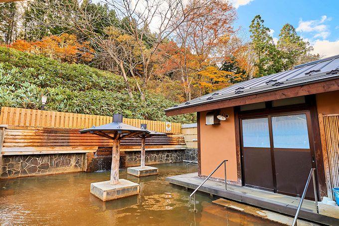 大江戸温泉物語「ますや」で鳴子温泉の4泉質を堪能!