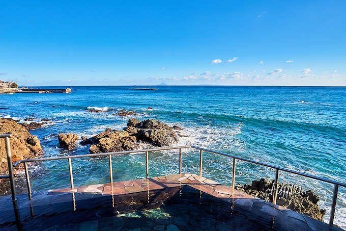 海一望の絶景露天風呂が本当に素晴らしい!