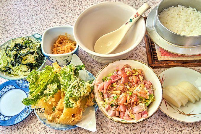ところてんも食べ放題!西伊豆・松崎「地魚さくら」鯵まご茶定食が絶品