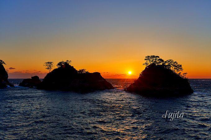 堂ヶ島海岸の夕日をおすすめする3つの理由