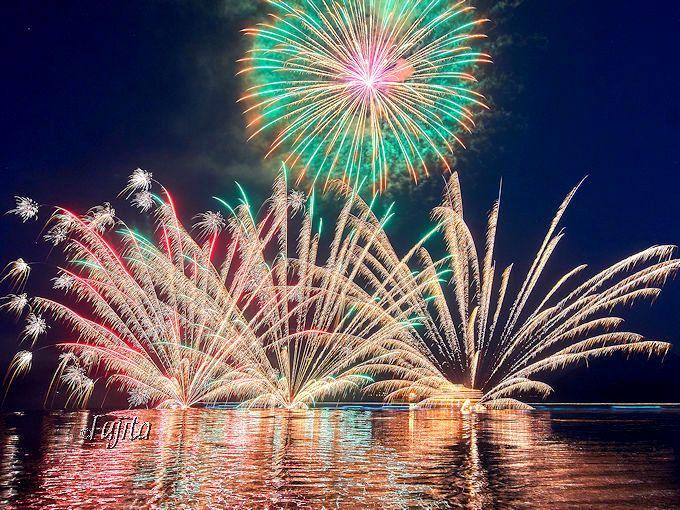 洞爺湖ロングラン花火大会は半年間毎晩実施!