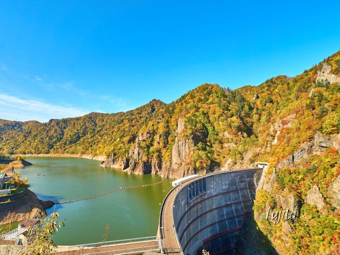 錦橋と豊平峡ダムの紅葉も必見!