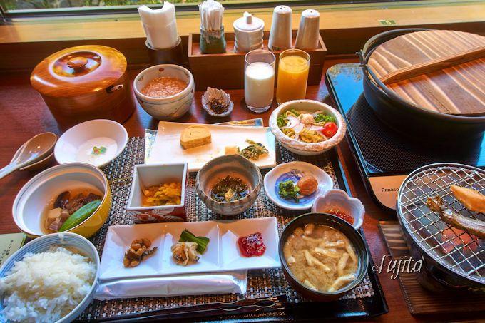 充実の夕食と爽やかな朝食!