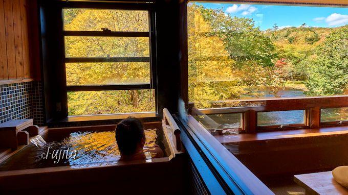 1.秋は客室温泉から紅葉狩り!北海道・釧路の絶景ホテル