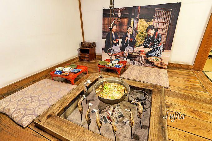 食物繊維豊富で嬉しい!夕食の名物料理「山の芋鍋」