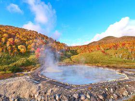 ニセコの紅葉10月が見頃!日帰り温泉と絶景の紅葉狩り