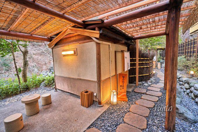 西山温泉慶雲館は貸切風呂が素晴らしい!