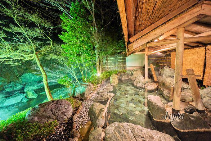 西山温泉慶雲館で貸切露天風呂を満喫!山梨の老舗旅館は世界最古
