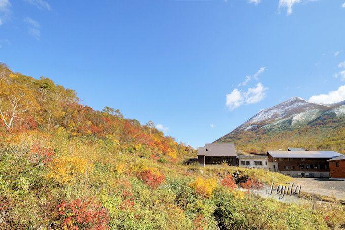 ニセコ五色温泉の紅葉露天風呂!北海道の秘湯で紅葉狩り