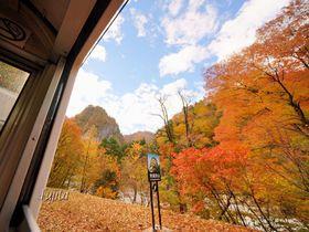 黒部峡谷の紅葉を一望!富山・黒部峡谷トロッコ電車で紅葉狩り