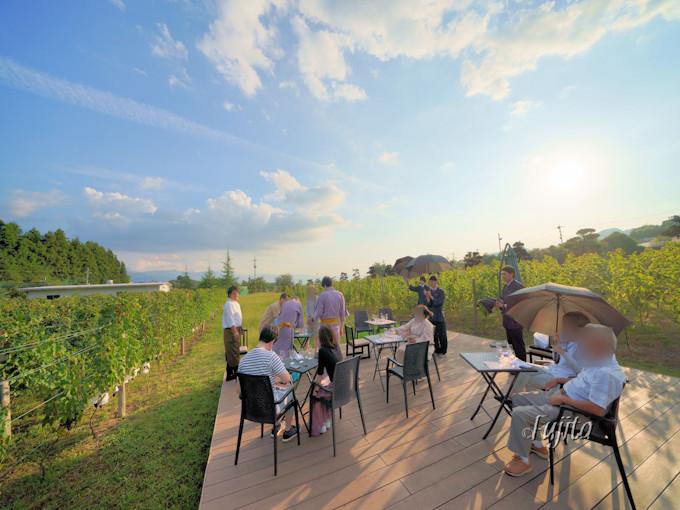 笛吹川温泉「坐忘」でワインと料理のマリアージュを学ぶ!
