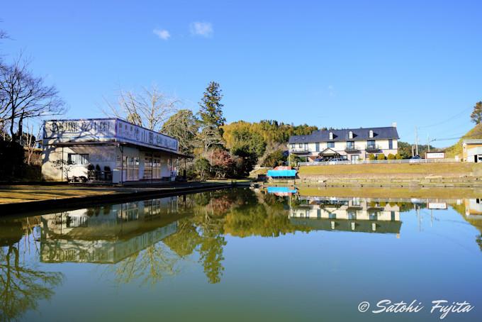 釣り堀完備で、釣り名所の亀山湖も至近距離!