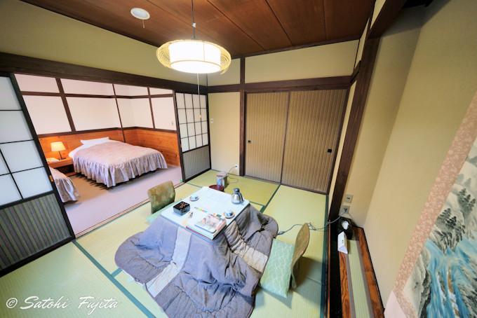 お手頃料金の和洋室でも至極快適!露天風呂付き客室も完備