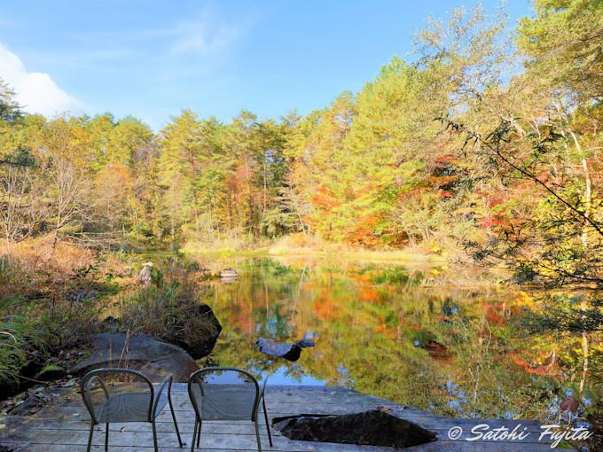 ホテリアアルトは敷地内に美しい沼が2つも!