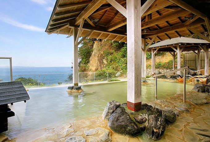 茨城県では貴重!源泉かけ流しの天然温泉