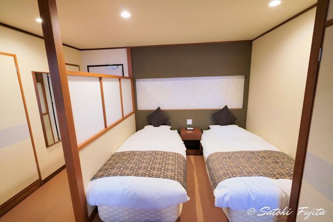 部屋は和洋室を指定しよう!