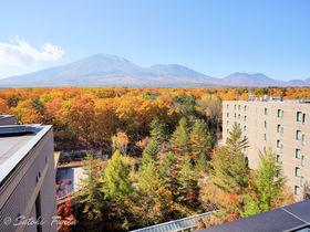 浅間山を一望!「ホテル軽井沢1130」はコース料理も大満足