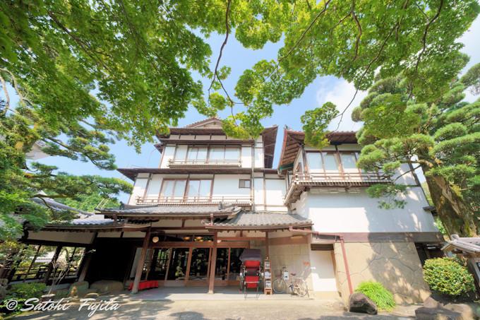 修善寺温泉「新井旅館」は登録有形文化財の宿!
