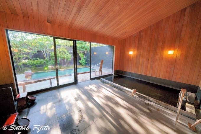浴室棟の大浴場は気分爽快!本館浴場と遜色なし