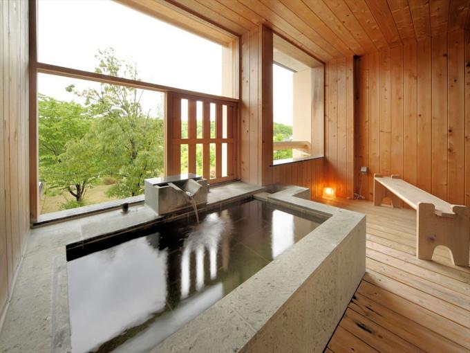 全部屋の風呂まで天然温泉!