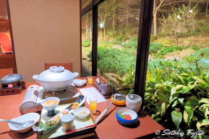 箱根「雪月花」の夕食は2種類から予約時に選択!