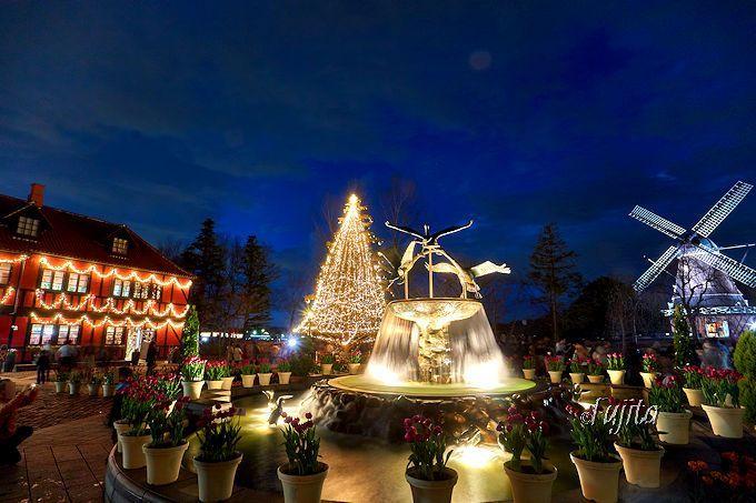 千葉県船橋市「ふなばしアンデルセン公園」クリスマス・イルミネーション無料開放!