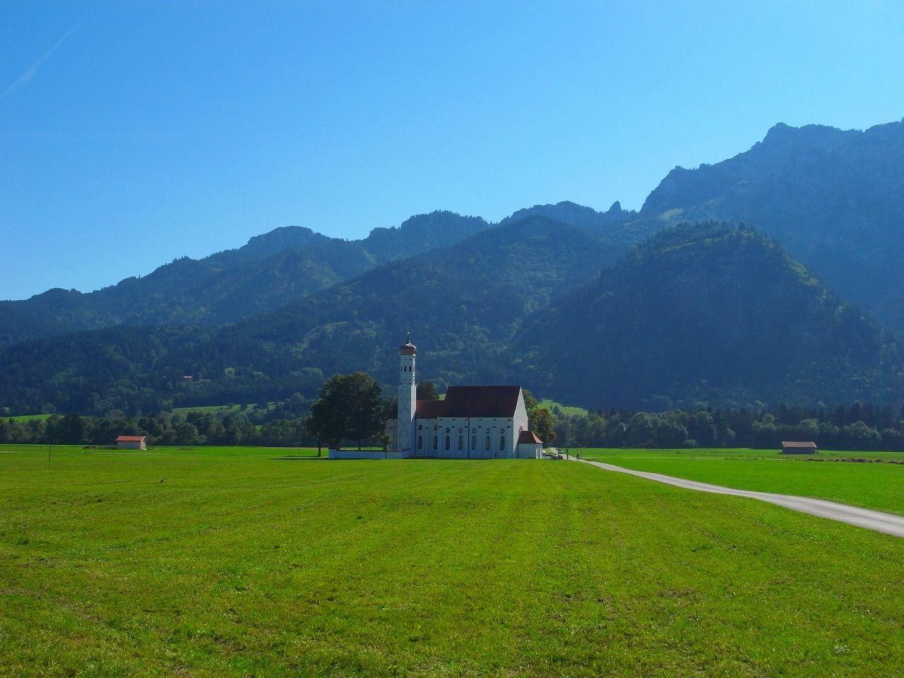 目の前に広がる大草原!シュヴァンガウの村を自転車で走ろう