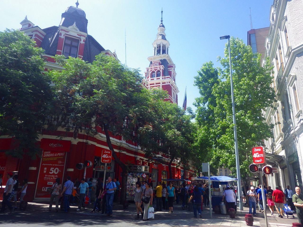 サンティアゴは半日で観光できるお手軽な街