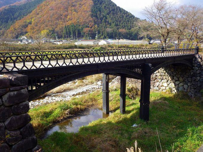 繁栄の象徴 神子畑と羽渕の鋳鉄橋を実際に歩いてみよう
