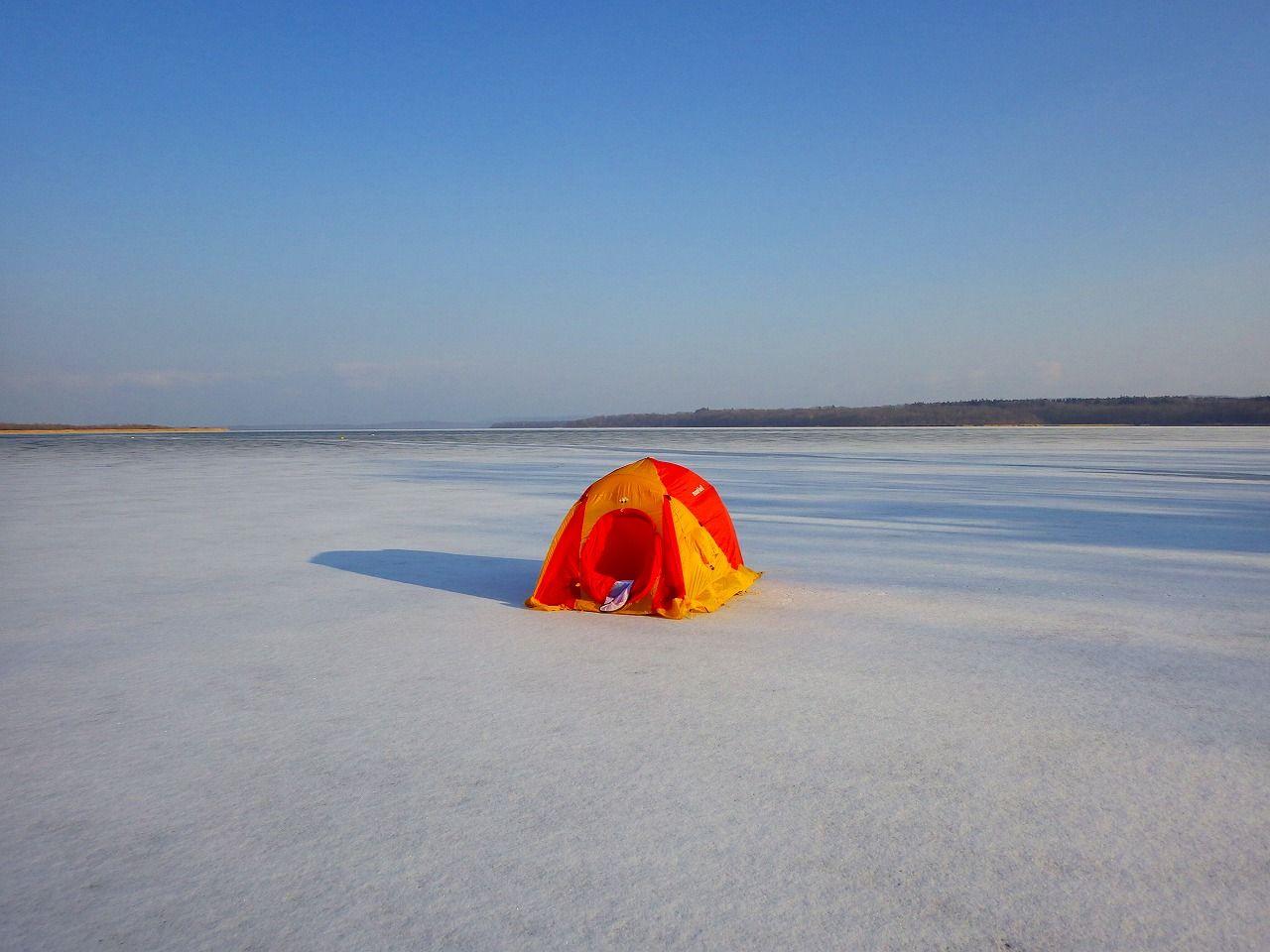 駅裏の国定公園!網走湖が輝くのは、やはり冬!
