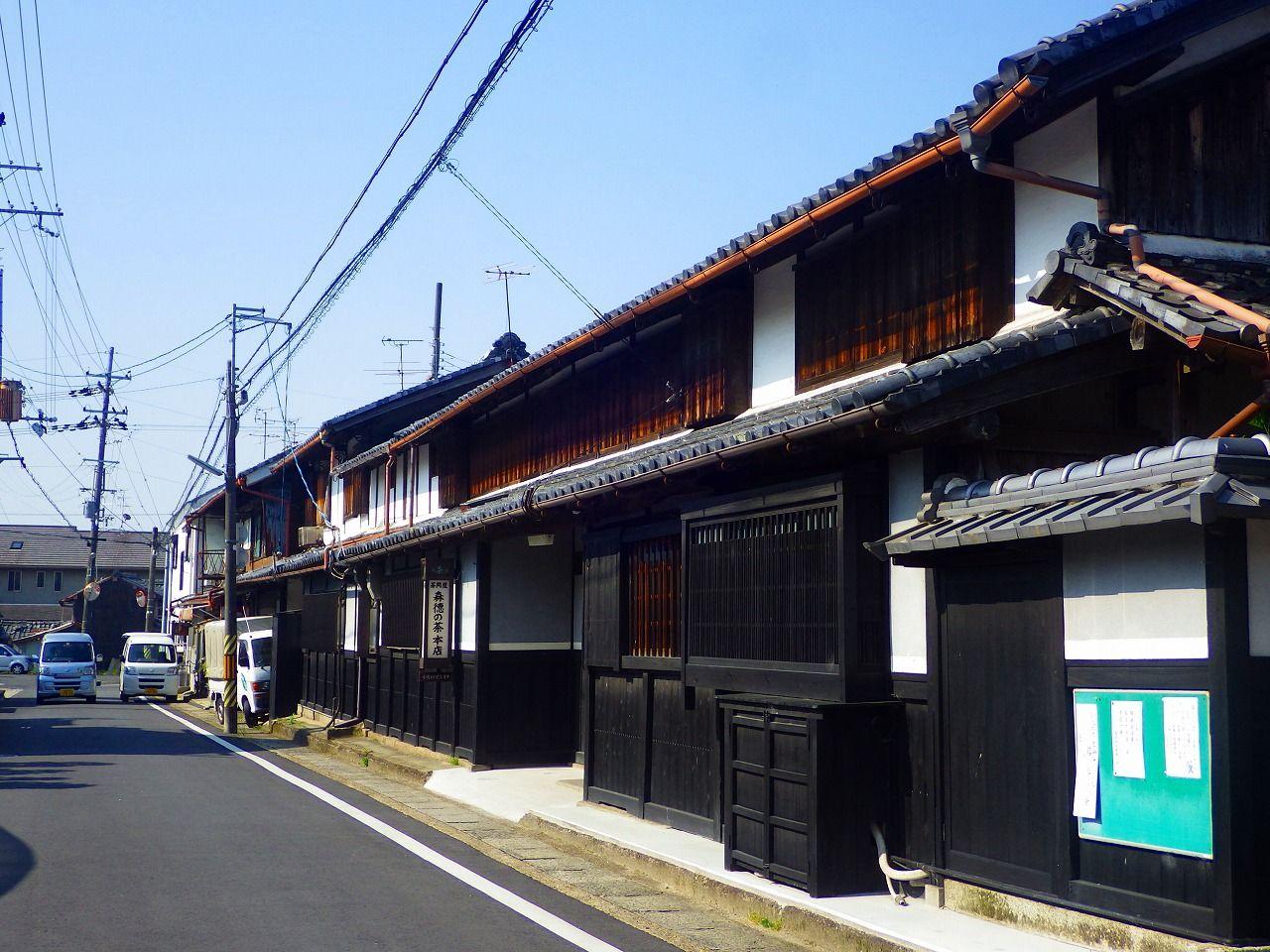 宇治茶流通の歴史を紐解く!茶問屋が並ぶ奈良街道の景観