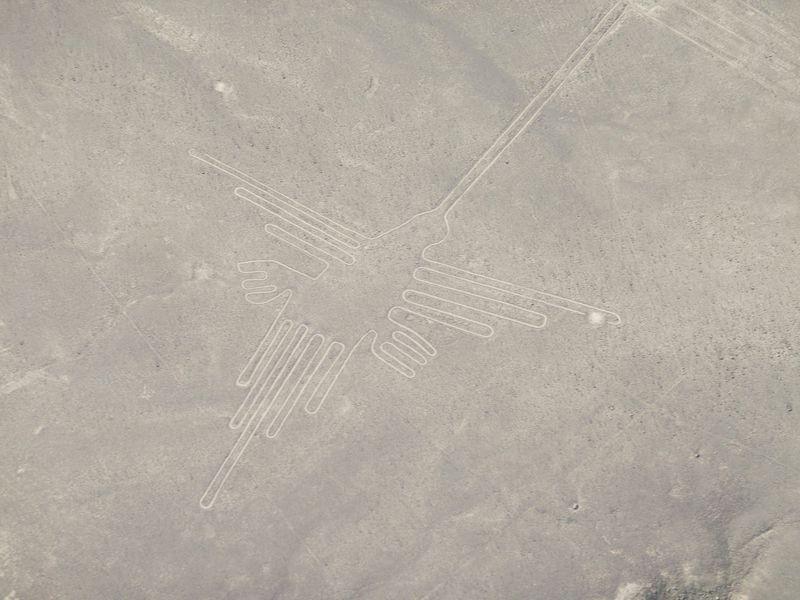 セスナで日帰り世界遺産見学!ペルー共和国、ナスカの地上絵