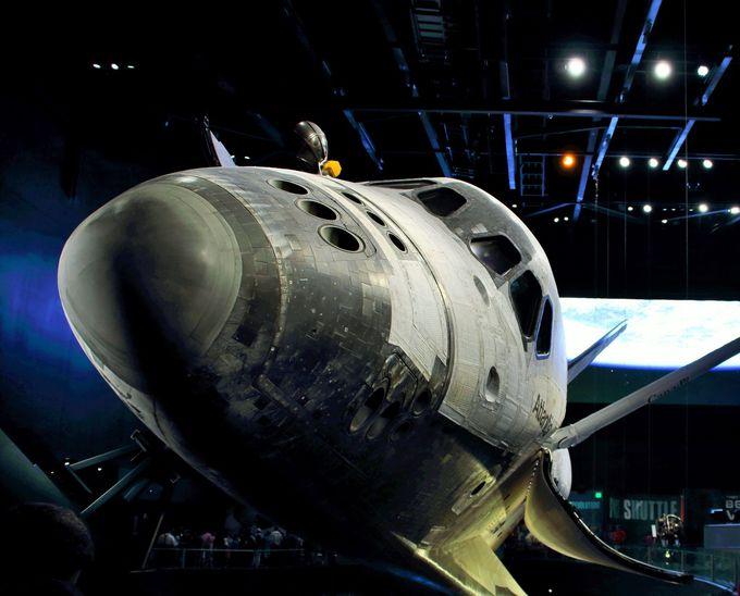 スペースシャトル発射体験!