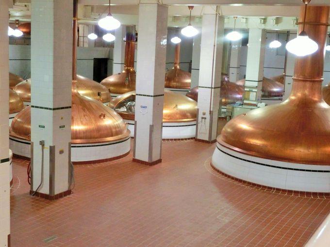 早速ビール工場を見学!