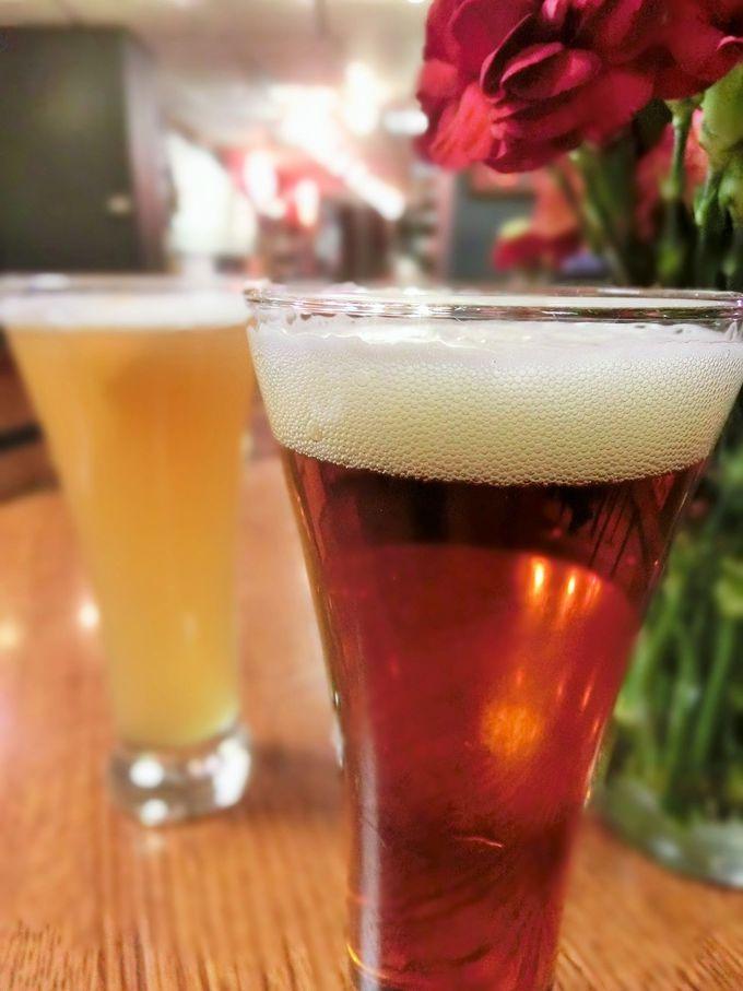 たっぷり3杯!無料試飲は地ビールがオススメ!