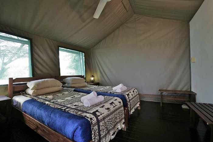 宿泊スタイルは、テントから豪華コテージまでさまざま